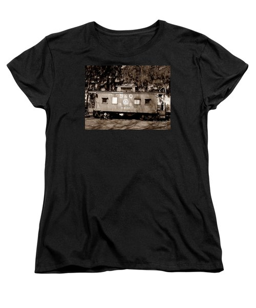 Women's T-Shirt (Standard Cut) featuring the photograph Old Timer by Sara  Raber