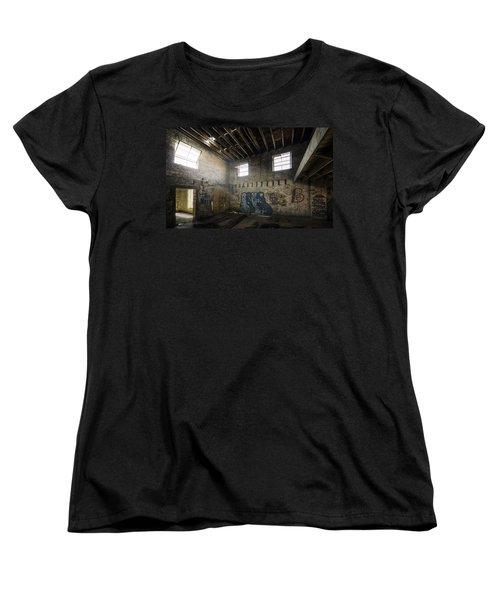 Old Warehouse Interior Women's T-Shirt (Standard Cut)