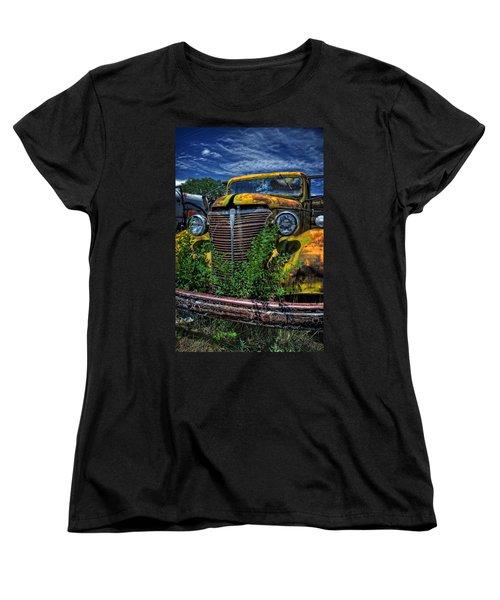 Women's T-Shirt (Standard Cut) featuring the photograph Old Yeller by Ken Smith
