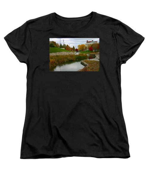 Women's T-Shirt (Standard Cut) featuring the photograph Omaha In Color by Elizabeth Winter