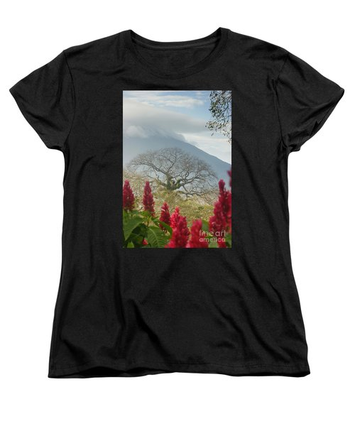 Women's T-Shirt (Standard Cut) featuring the photograph Ometepe Island 1 by Rudi Prott