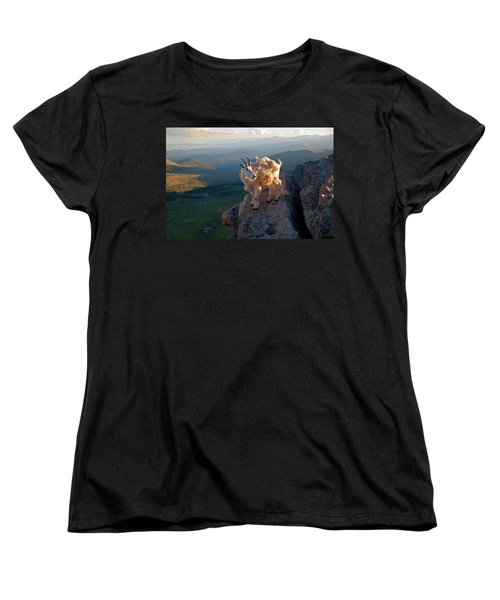 Women's T-Shirt (Standard Cut) featuring the photograph On A Clear Day by Jim Garrison