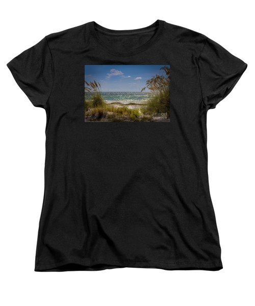 On A Clear Day Women's T-Shirt (Standard Cut) by Marvin Spates