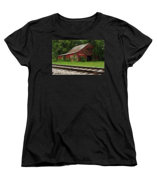 On A Tennessee Back Road Women's T-Shirt (Standard Cut) by Douglas Stucky