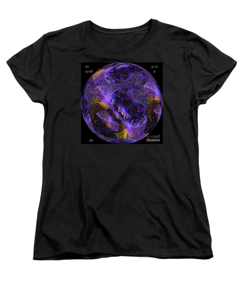 On Earth As It Is In Heaven Women's T-Shirt (Standard Cut) by Margie Chapman