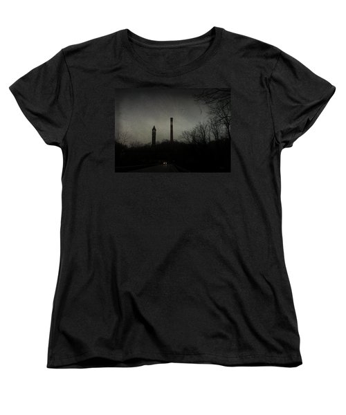Women's T-Shirt (Standard Cut) featuring the photograph Oncoming by Cynthia Lassiter