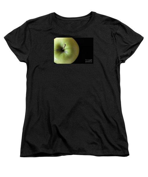 One Apple - Still Life Women's T-Shirt (Standard Cut) by Wendy Wilton