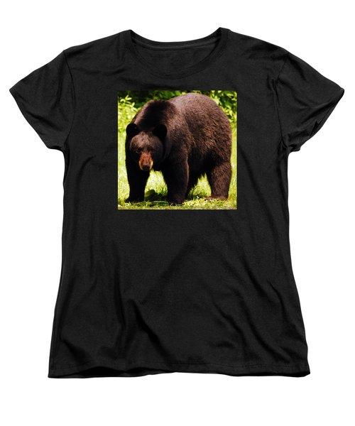 One Big Bad Momma Women's T-Shirt (Standard Cut)