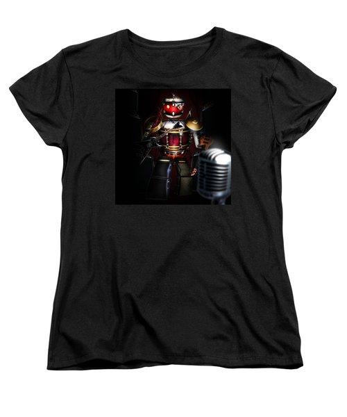One Man Band Women's T-Shirt (Standard Cut)