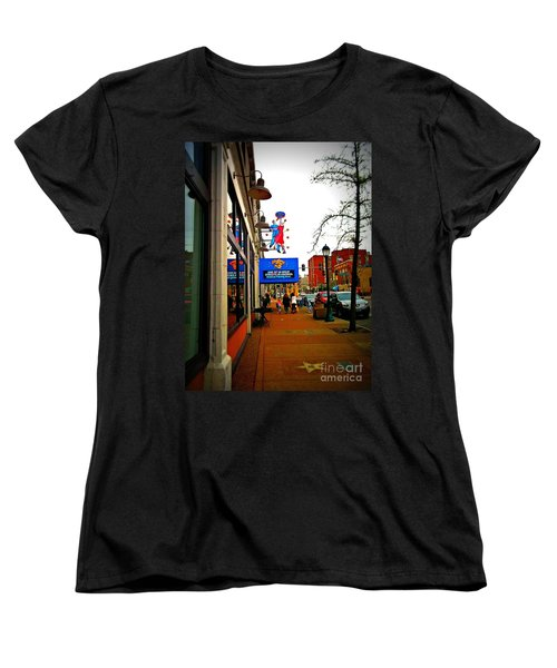 One Of Ten Great Streets Women's T-Shirt (Standard Cut) by Kelly Awad