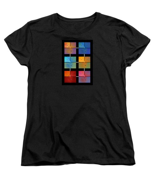 One To Eighteen - Colorful Rust - All Colors Women's T-Shirt (Standard Cut) by Menega Sabidussi