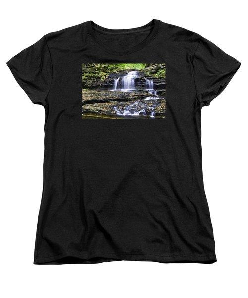 Onondaga Falls Women's T-Shirt (Standard Cut)