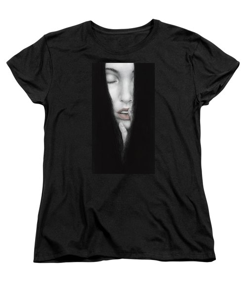 Women's T-Shirt (Standard Cut) featuring the painting Onus Memoriae by Pat Erickson