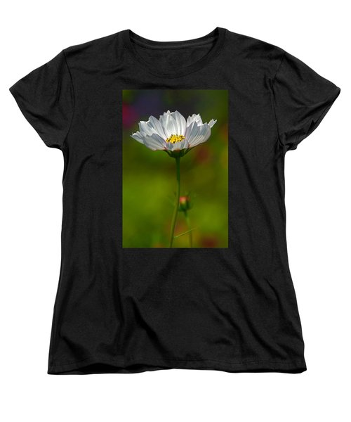 Women's T-Shirt (Standard Cut) featuring the photograph Open For All by Byron Varvarigos