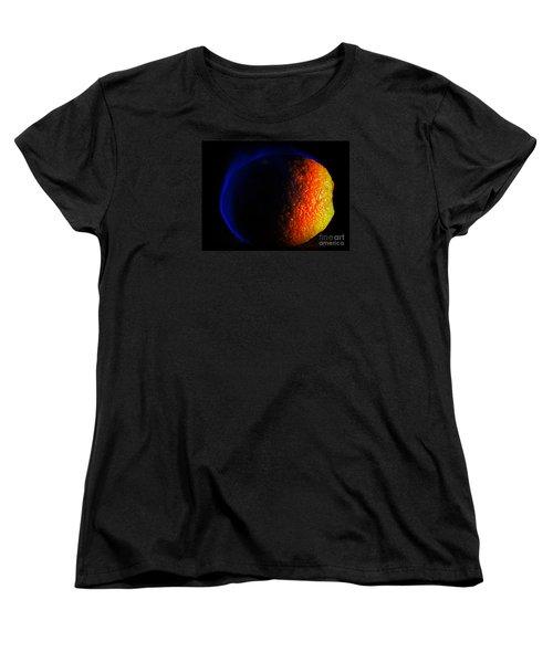Orange And Blue Women's T-Shirt (Standard Cut) by Paul  Wilford