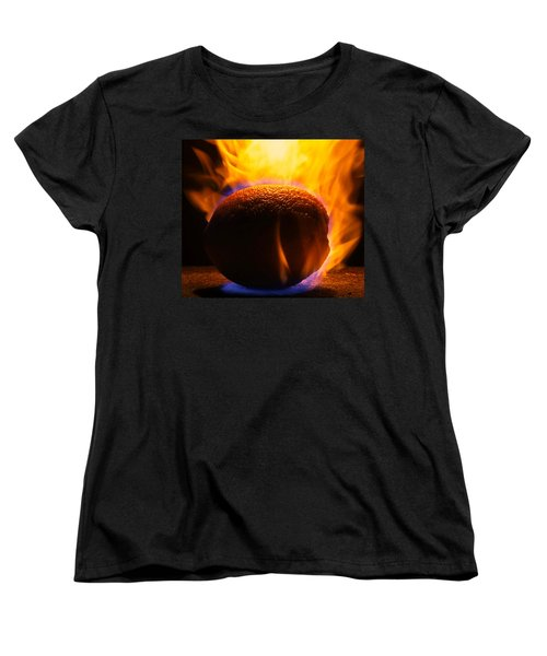 Orange You Glad Women's T-Shirt (Standard Cut) by Paul  Wilford