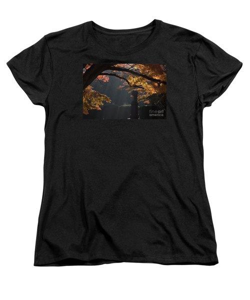 Women's T-Shirt (Standard Cut) featuring the photograph Orangish by Steven Macanka