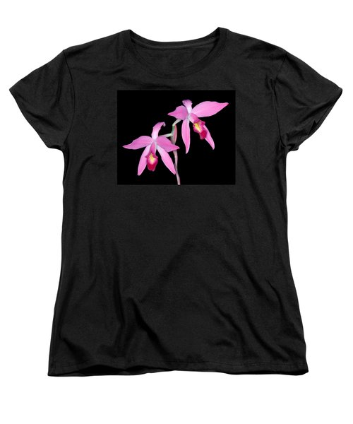 Orchid 1 Women's T-Shirt (Standard Cut) by Andy Shomock