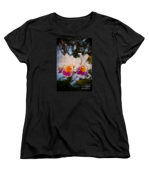 Women's T-Shirt (Standard Cut) featuring the photograph Orchid Elsie Sloan by The Art of Alice Terrill