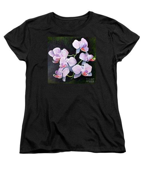 Orchids II Women's T-Shirt (Standard Cut) by Debbie Hart