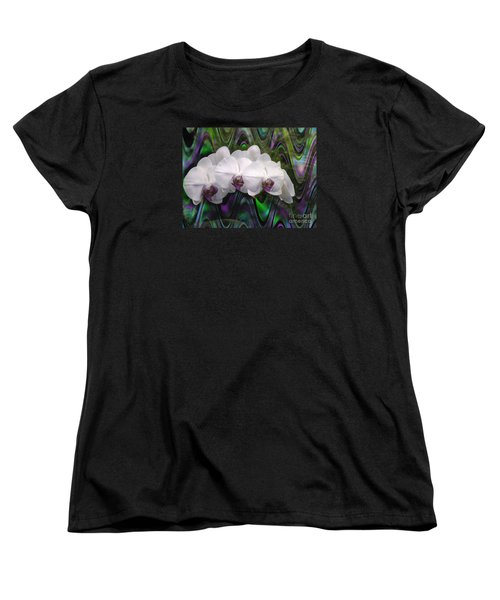 Women's T-Shirt (Standard Cut) featuring the photograph Balanchine Ballet by The Art of Alice Terrill