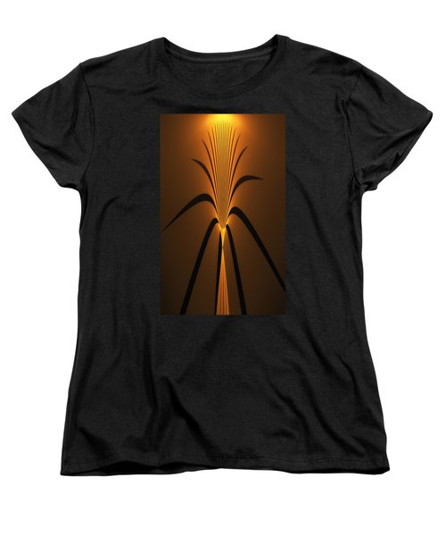 Oriental Vase Women's T-Shirt (Standard Cut) by GJ Blackman