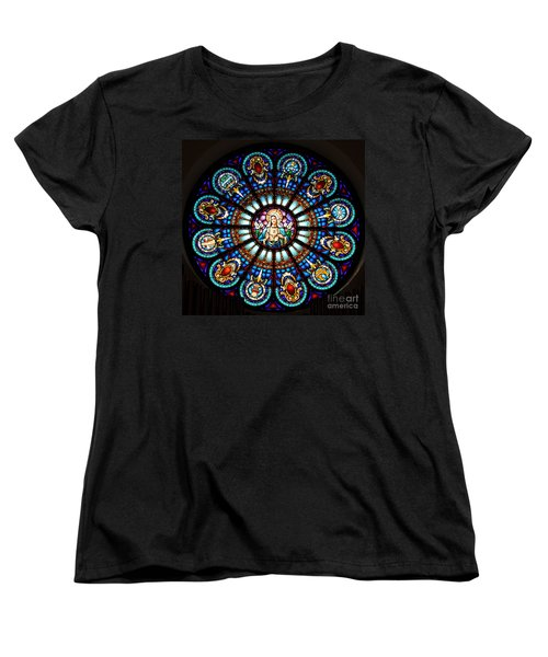 Our Blessed Mother Women's T-Shirt (Standard Cut) by Debby Pueschel