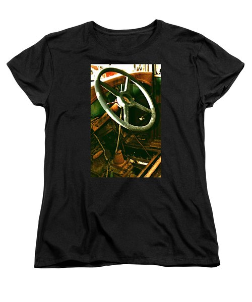 Women's T-Shirt (Standard Cut) featuring the photograph Our New Car by Don Wright