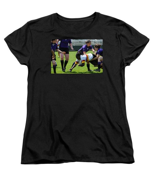 Women's T-Shirt (Standard Cut) featuring the photograph Out Numbered by Mike Martin