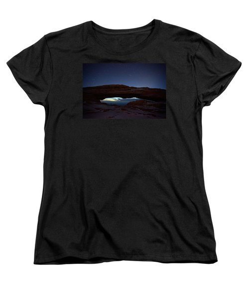 Women's T-Shirt (Standard Cut) featuring the photograph Over The Arch by David Andersen