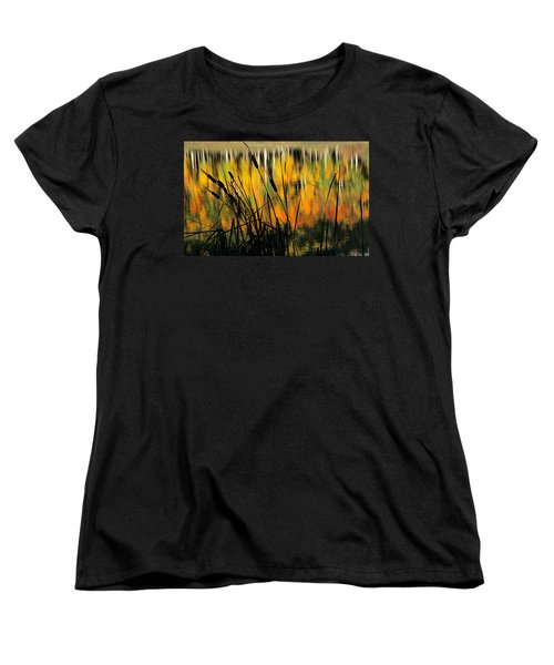 Women's T-Shirt (Standard Cut) featuring the photograph Owl Creek Pass Fall 3 by Susan Rovira