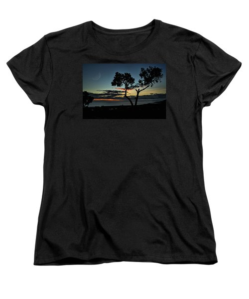 Women's T-Shirt (Standard Cut) featuring the photograph Pacific Evening by Michael Gordon