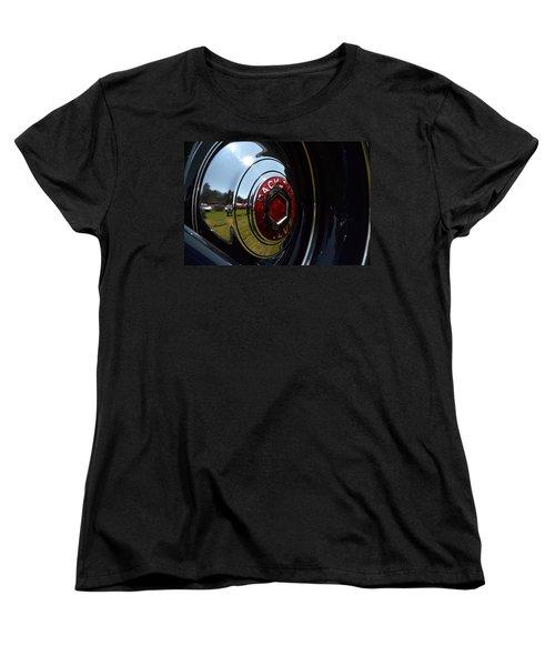 Women's T-Shirt (Standard Cut) featuring the photograph Packard - 2 by Dean Ferreira