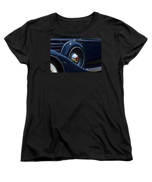 Women's T-Shirt (Standard Cut) featuring the photograph Packard - 1 by Dean Ferreira