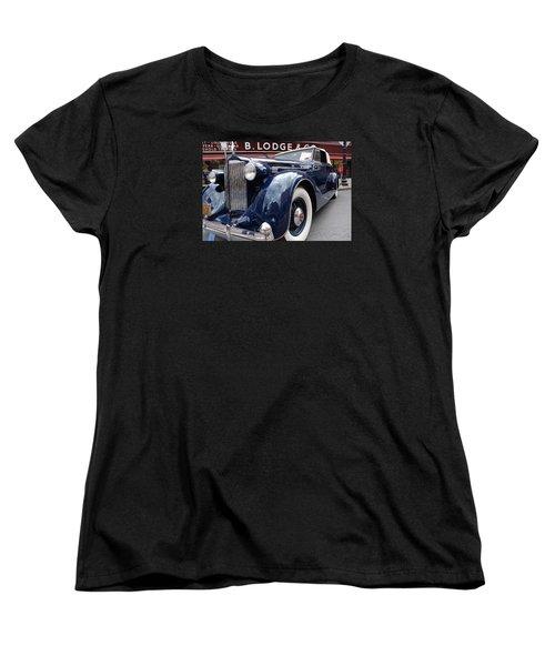Women's T-Shirt (Standard Cut) featuring the photograph Packard 1207 Convertible 1935 by John Schneider