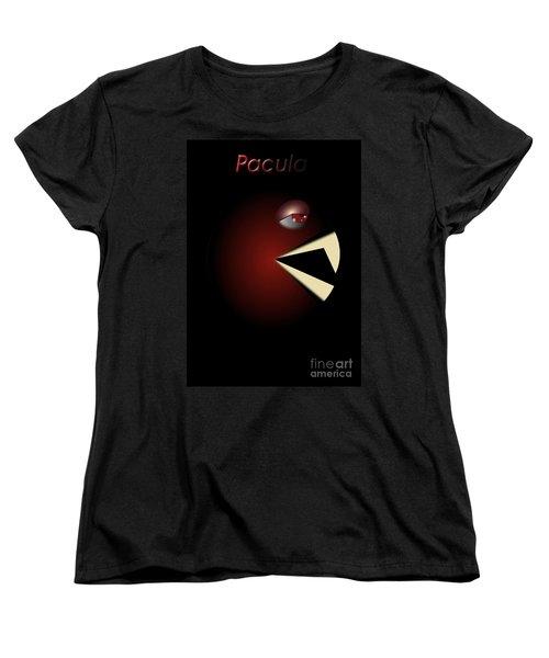 Women's T-Shirt (Standard Cut) featuring the digital art Pacula by R Muirhead Art