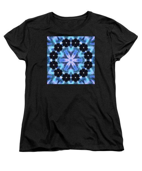 Painted Cymatics 108.00hz Women's T-Shirt (Standard Cut) by Derek Gedney