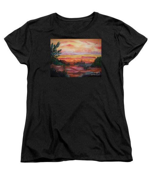 Painted Desert II Women's T-Shirt (Standard Cut) by Ellen Levinson