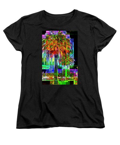 Palm Tree Women's T-Shirt (Standard Cut)