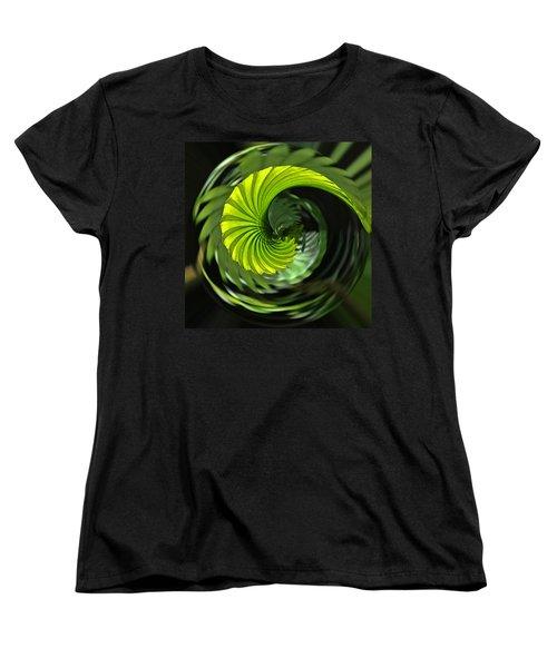 Palmetto Nautilus Women's T-Shirt (Standard Cut) by Gary Holmes