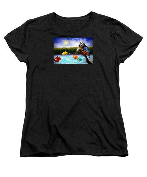 Paper Dreams Women's T-Shirt (Standard Cut) by Alessandro Della Pietra