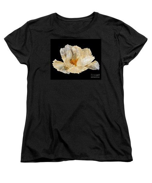 Paper Peony Women's T-Shirt (Standard Cut) by Diane E Berry