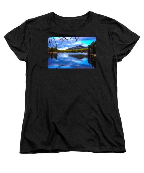 Women's T-Shirt (Standard Cut) featuring the photograph Paradise 2 by Shannon Harrington