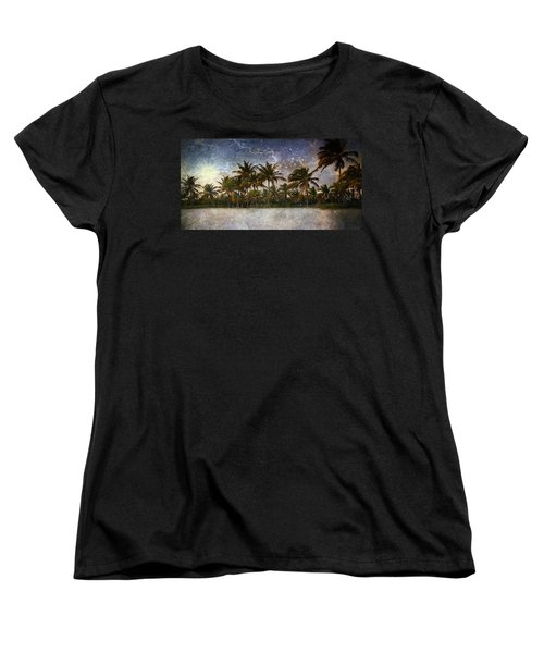 Paradise Found Women's T-Shirt (Standard Cut) by Ellen Heaverlo