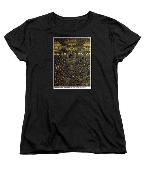 Paradise Of Holy Sakyamuni Women's T-Shirt (Standard Cut) by Fei A