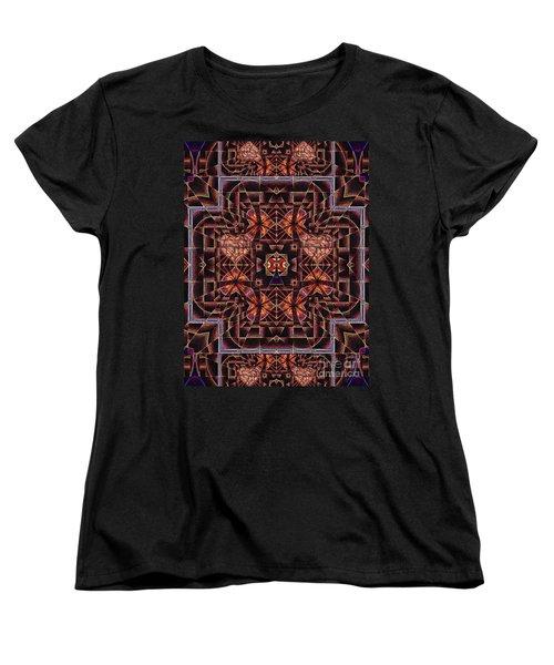 Women's T-Shirt (Standard Cut) featuring the digital art Paris City Of Hearts by Joseph J Stevens