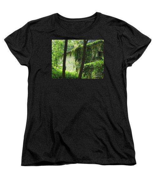 Paris - Green House Women's T-Shirt (Standard Cut) by HEVi FineArt