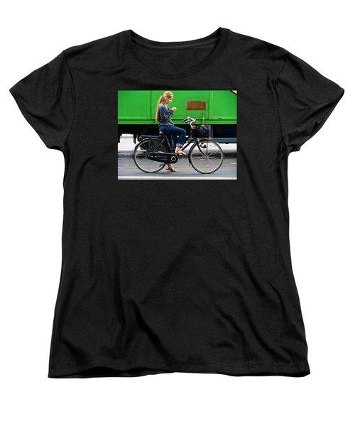 Women's T-Shirt (Standard Cut) featuring the photograph Paris Interlude by Ira Shander