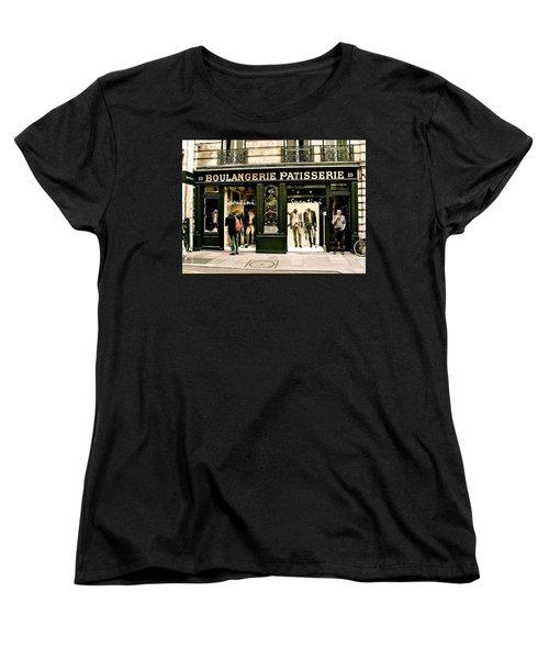 Women's T-Shirt (Standard Cut) featuring the photograph Paris Waiting by Ira Shander