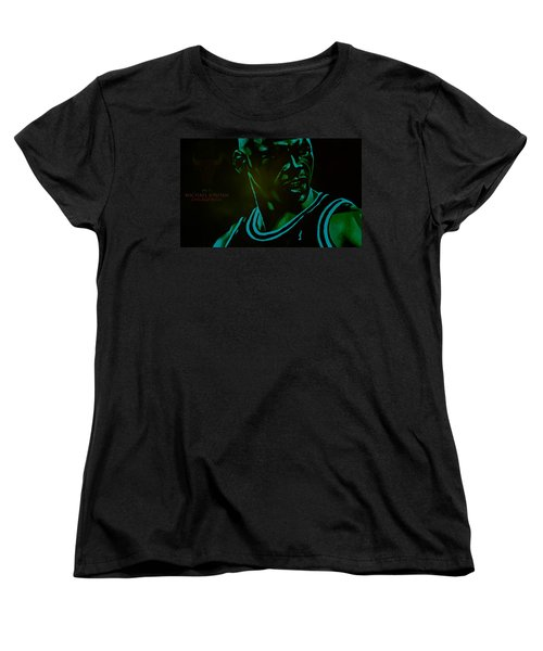 Women's T-Shirt (Standard Cut) featuring the digital art Passion by Brian Reaves
